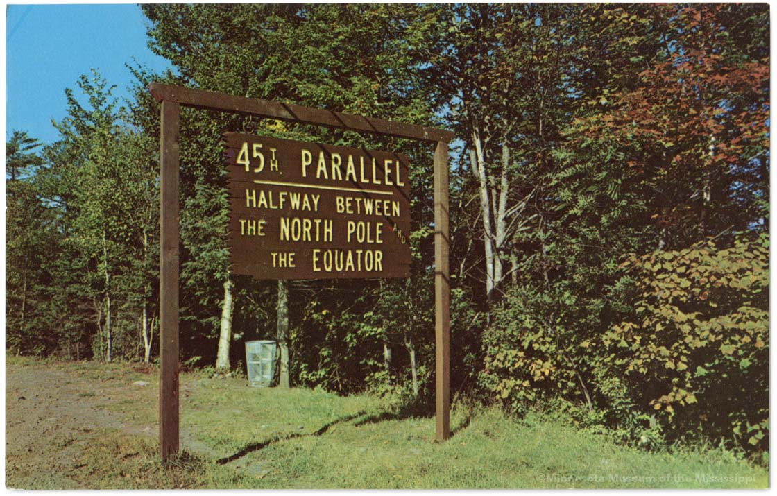 Th Parallel Stewartstown - 45th parallel map us