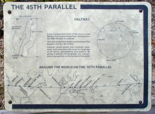 Opinions On Th Parallel North - 45th parallel map us